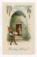Joyeuses Pâques .  Lapin . Happy Easter .  Rabbit  .  Kaninchen Ostern - Pâques