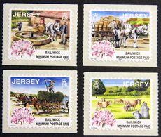 Jersey 1998: Days Gone By Traditional Agriculture) Michel 855-858 ** MNH  START Unter Postpreis - DÉPART Sous La Faciale - Agriculture