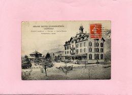 Carte Postale - Grand Hôtel LESDIGUIERES - GRENOBLE - D38 - Grenoble