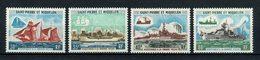 SPM MIQUELON 1971 N° 410/413 ** Neufs MNH Superbes C 235 € Bateaux Sailboat Ships Pêche Fishing Transports - St.Pierre & Miquelon