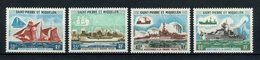 SPM MIQUELON 1971 N° 410/413 ** Neufs MNH Superbes C 235 € Bateaux Sailboat Ships Pêche Fishing Transports - Nuovi