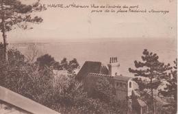 LE HAVRE STE ADRESSE VUE DE L ENTREE DU PORT PRISE DE LA PLACE FREDERICK SAUVAGE - Le Havre