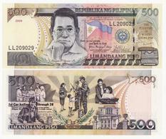 Philippines 500 Peso 2009 Pick 196 UNC - Philippines