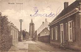 Weelde - Kerkstraat (1932, Timbre Taxe) - Ravels