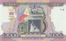 Philippines 2000 Pesos 1998 Pick 189 UNC - Philippines