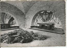 BASTOGNE. MEMORIAL DE LA BATAILLE DU SAILLANT. La Crypte.  (scan Verso) - Bastogne