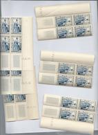 Lot De 6 Coins Datés Du Timbre N°956 - 1950-1959