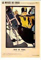 MUSEE  DE  SIRES  / SHAH  DE PERSE    /LOT 624 - Postkaarten