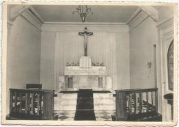 HERMALLE S/ARGENTAU. Maison De Repos Et Pensionnal Religieuses De L'Immaculée Conception. La Chapelle.  (scan Verso) - Oupeye