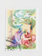 United Nations Vienna Mi 503 Peaceful Visions - Tree - Birds - Couple 2007 - Wien - Internationales Zentrum