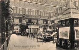 Liège (Expo) - Intérieur Du Pavillon Du Canada 1905 - Luik