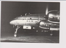 Rppc KLM K.L.M Royal Dutch Airlines Lockheed Constellation L1049 @ Schiphol Airport - 1919-1938: Between Wars