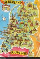 NEDERLAND - HOLLAND - NUOVA - Carte Geografiche