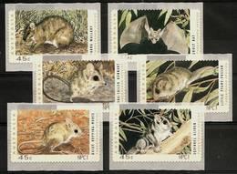 AUSTRALIA 1993 - THREATENED SPECIES - ATM 6v Selfadh. Mi 27-32 MNH ** Cv€9,00 K392atm - Ungebraucht