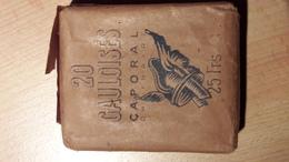Paquet De Gauloises 2ème Guerre Mondiale - Cigarettes - Accessoires