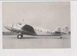 Rppc KLM K.L.M Royal Dutch Airlines Lockheed 14 Super Electra - 1919-1938: Between Wars