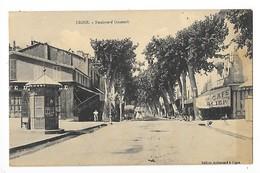 DIGNE  (cpa 04 )  Boulevard Gassendi   - L 1 - Digne