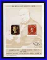1978 - Chile - Sc. C 2B - Aniversario De Rowland Hill - Exfinla 78 - MNH - CHI- 127 - Chile