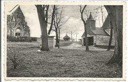 Chèvremont. Vue Générale. L'antique Chapelle De N.-D. De Marie, La Chapelle Ste-Begge Et La Basilique.  (scan Verso) - Chaudfontaine