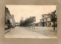 CPA - LAGNY-THORIGNY (77) - Aspect De La Gare Et De La Place De La Gare En 1915 - Lagny Sur Marne