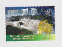United Nations Vienna Mi 504 World Heritage Sites - Iguaçu Falls - 2007 - Wien - Internationales Zentrum