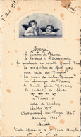 Thematiques Menu 8 Mai 1939 Anges - Menus