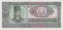 Romania 25 Lei 1966 Pick 95 UNC - Roumanie