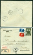 Yugoslavia 1949 Bahnpost Railway Mail Post Zagreb - Osijek 22 B Beograd - Ljubljana 3 1 (Cyrillic) Nasice Tito - 1945-1992 Socialist Federal Republic Of Yugoslavia