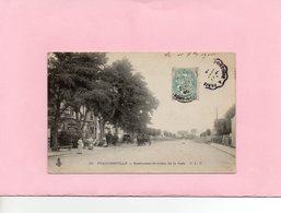 Carte Postale - FRANCONVILLE - D95 - Restaurant Et Sortie De La Gare - Franconville