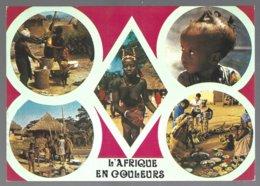 CP 8334-Afrique En Couleurs,multivues - Cartes Postales