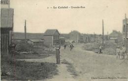 02 LE CATELET Grande Rue CPA N°2 Cliché Dumesnil Marguin - Andere Gemeenten