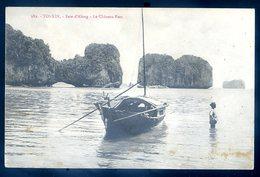 Cpa Du Viet Nam Tonkin Baie D' Along --  Le Chateau Fort   YN42 - Viêt-Nam