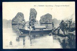 Cpa Du Viet Nam Tonkin Baie D' Along --  Parrages De Port Bayard    YN42 - Viêt-Nam