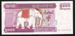 MYANMAR BURMA BIRMANIE P81 5000 KYATS  2009 UNC. - Myanmar
