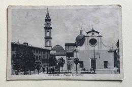 FIRENZE - PIAZZA S.SPIRITO - VIAGGIATA FP - Firenze