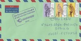 GOOD UAE Postal Cover To ESTONIA 2018 - Good Stamped: Birds - United Arab Emirates