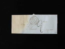 LETTRE DE BUCHY  POUR AUMALE  -  1850  - - Marcophilie (Lettres)