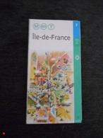 FRANCE Carte Du Réseau M - RER - T - Ile De France 2002 - Europe