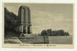 PALLANZA - MAUSOLEO A CADORNA - NV FP - Verbania