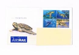 Isole Cocos (Keeling) - Air Mail - Sea Turtles - YVERT 389/392 - Cocos (Keeling) Islands