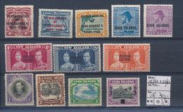 COOK ISLANDS  YVERT 45/47 + 54/62 LH - Cook