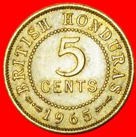 # LAST TYPE: BRITISH HONDURAS ★ 5 CENTS 1965! LOW START ★ NO RESERVE! - Belize