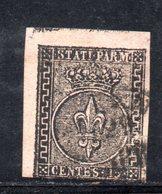150b - PARMA , 15 Centesimi N. 3 Usato . - Parme