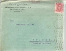 CARTA COMERCIAL   COMERCIAL 1929 GERONA - 1889-1931 Reino: Alfonso XIII