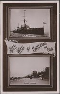 All's Well At Southend On Sea, Essex, 1909 - Shamrock RP Postcard - Southend, Westcliff & Leigh