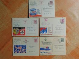 Lot De 5 Entiers Postaux Publibels   (M6) - Publibels