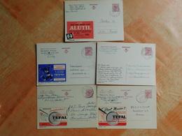 Lot De 5 Entiers Postaux Publibels   (M6) - Entiers Postaux