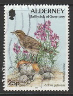 Alderney 1997 Fauna And Flora - New Values 25 P  Multicoloured SW 101 O Used - Alderney