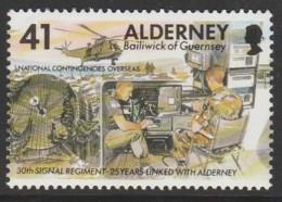 Alderney 1996 Strategic Communications 41 P  Multicoloured SW 91 O Used - Alderney