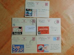 Lot De 5 Entiers Postaux Publibel  (M6) - Entiers Postaux